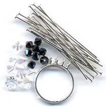 Bling кольцо материал